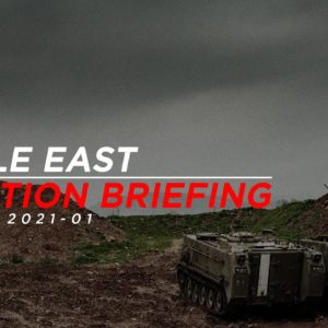 MIDDLE EAST SITUATION BRIEFING // January 2021 (Syria, Iraq, Israel)