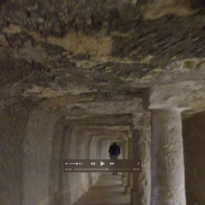 Tunnel Under The Step Pyramid Of Saqqara In Egypt: Megalithic Inheritance