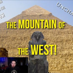 UnchartedX Podcast! The Mountain of the West, the 2nd pyramid at Giza - with Snake Bros and Cfapps.